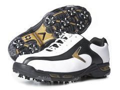 Bio-Kinetic Tour Shoes, White/Black