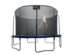 "13 Ft ""SKYTRIC"" Trampoline & Enclosure"