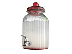 Springfield 1.3 Gal Beverage Dispenser Red