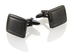 Black Stainless Steel Cufflinks