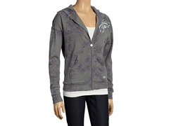 Women's Lotus Hoodie - Grey/Purple
