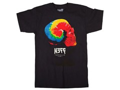 Neff Dome Piece Tee - Black (S, M)