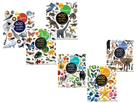 3-Pack Eyelike Stickers Books - 2 Choices