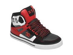 DC Men's Spartan Hi-Top Shoes w/ Earbuds