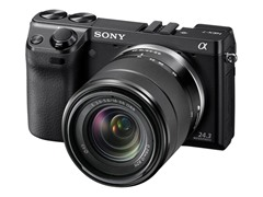 Sony 24.3MP Mirrorless Camera w/ 18-55mm Lens