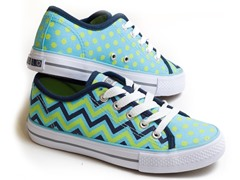 Groovy ZigZag Lace-Up - Women (7-10)
