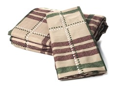 Microfiber Flannel Set - Plaid - Twin