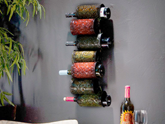 Grazia Wall Mount Wine Storage