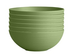 Planter Bowl, 15-Inch, Green, 6-Pk