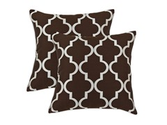 Decade 16x16 Pillows - Cocoa - Set of 2