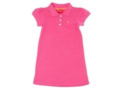 Pink Polo Dress (3M-4T)