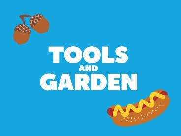 HomeToberfest: Tools & Garden Edition