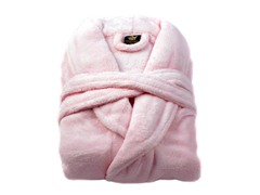 Boston Robe-Pink-Large/XLarge