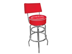 Pub Stool w/Back Refreshing Coca-Cola®