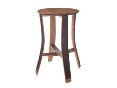 Wine Cask Pub Table