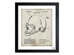Football Helmet 1973 (3 Sizes)