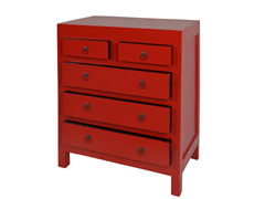 Jeffan Newton Chest - Red