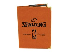 "Spalding NBA 8.5""x11"" Padfolio - Orange"