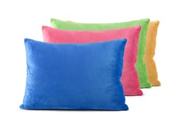 Kidz Memory Foam Pillows w/Cover 4-Colors