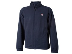 Men's Microfleece Jacket - Peacoat