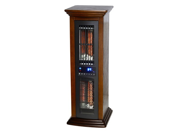 Life Pro Tower Infrared Heater Fan Combo