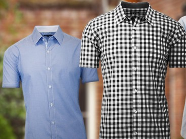 Harvic Short Sleeve Woven Shirts