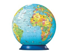 270 Pc Children's Globe 3D Puzzle Ball