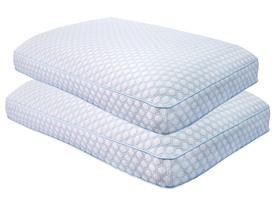 Sensorpedic Regal Gusseted Memory Foam Pillow - 2 Pack