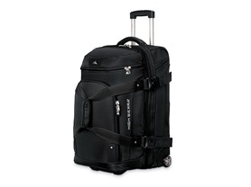 "26"" Wheeled Drop Bottom Duffel - Black"