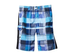 Jantzen Swim Short - Plaid Blue (16)