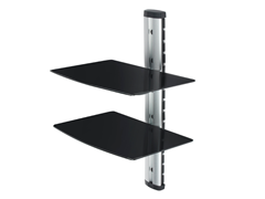 2 Shelf Media Player Stand