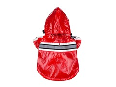 Red Reflecta Glow Raincoat