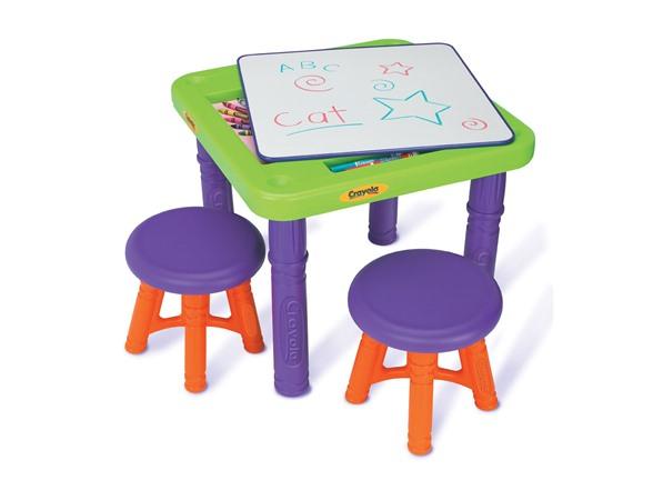 Crayola Sit N Draw Play Table Kids Amp Toys