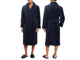 Men's Robe and Slipper Gift Set - 3 Colors