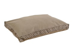 Venture Diamond Mocha 22x34 Seamed Fiber Pet Bed