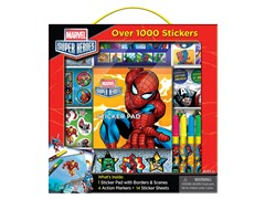 Marvel Heroes Sticker Box