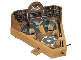 Tabletop Baseball Pinball Game