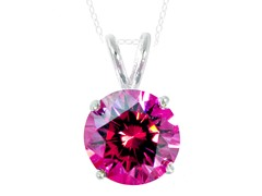 SS Ruby 3.5cttw Pendant Necklace