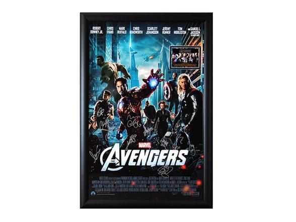 Memorabilia Signed Movie Poster