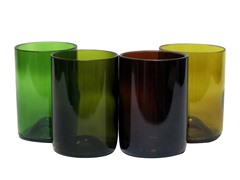 Blumarble Short Wine Glass Set of 4