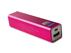 Rechargeable USB Charger - Pink