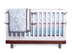 JJ Cole Crib Bedding Set - Sky Orbit