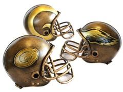 NFL Helmet Statues - 32 Teams
