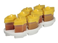 Baby Brezza Octo Food Storage System- Yellow