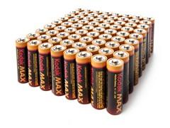AA MAX Alkaline Batteries 72pk