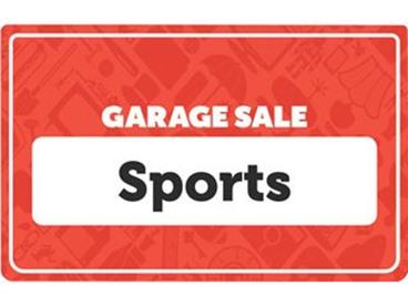 Sport Garage Sale