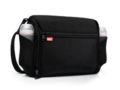 Black Station Convertible Diaper Bag
