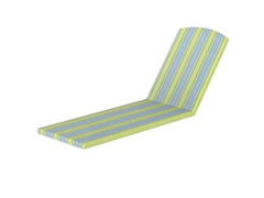 Nautical Stackable Chaise, Limelite
