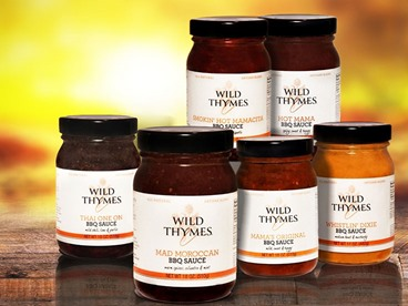 Wild Thymes Farm BBQ Sauces