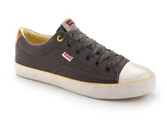 Levi's Louisiana Low Tops, Dark Grey